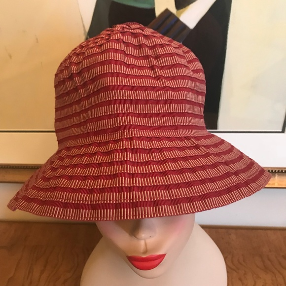 5da264386d1 Grevi Firenze Italy Accessories - Grevi Firenze Made in Italy Maroon Tier  Bucket Hat